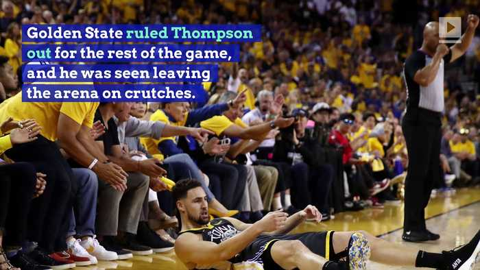 Warriors Confirm Klay Thompson Tore ACL in His Left Knee