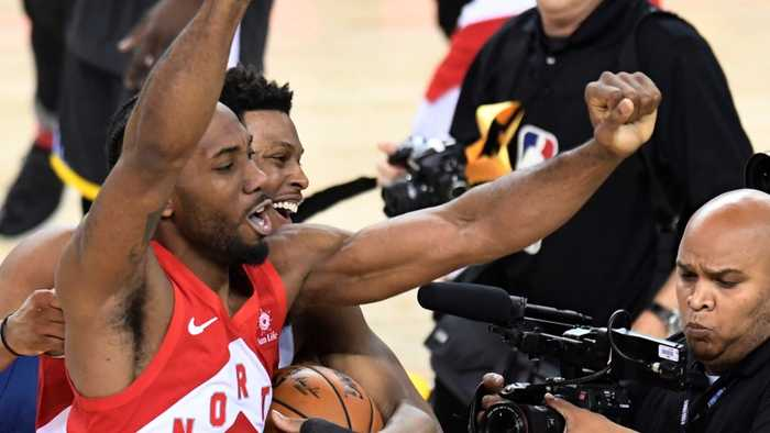 Toronto Raptors beat Warriors in NBA finals