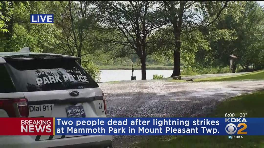 Fatal Lightning Strike Hits In Westmoreland County Park