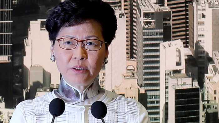 On Second Thought: Hong Kong's Lam Flip-Flops On Contentious Extradition Bill