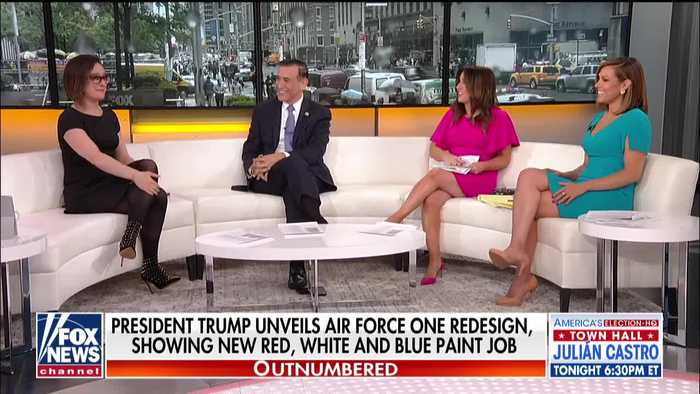 """Outnumbered"" discussion on Dems' attempt to block Air Force one changes"