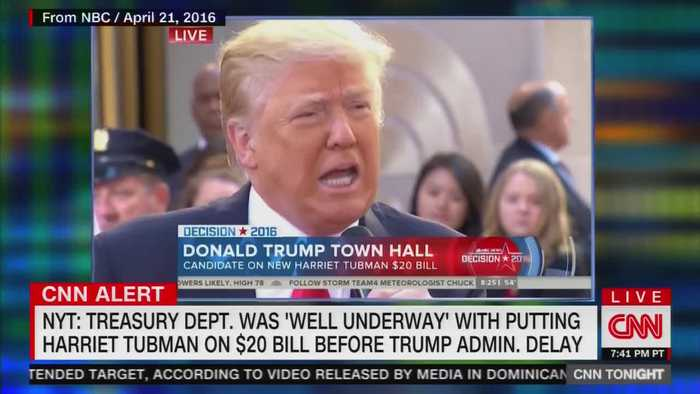 Don Lemon suggests Trump is reason for delay of Harriet Tubman bill