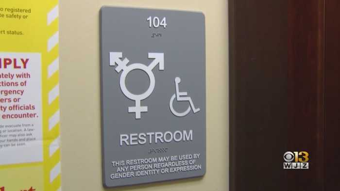 Mayor Young Signs Gender-Inclusive, Single Occupancy Restroom Bill Into Law