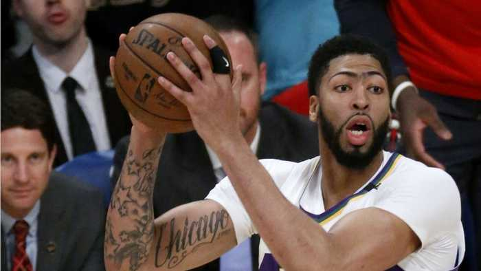 Anthony Davis Gets Traded Into The Los Angeles Lakers