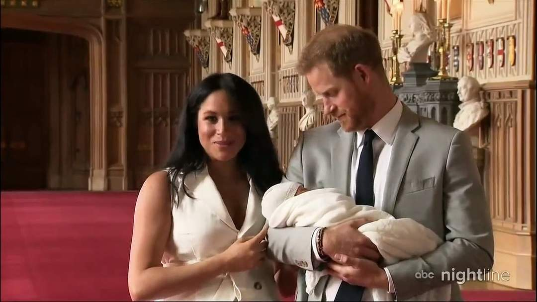Meghan Markle And Prince Harry Post New Photo Of Baby Archie For Father's Day