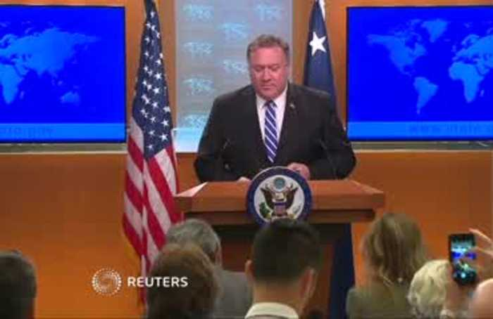 'Full range of options' on the table against Iran - Pompeo