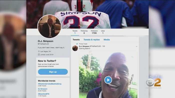 O.J. Simpson Joins Twitter To 'Set Record Straight'