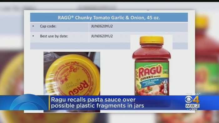 Some Ragú Pasta Sauces Recalled Over Concerns About Plastic Bits