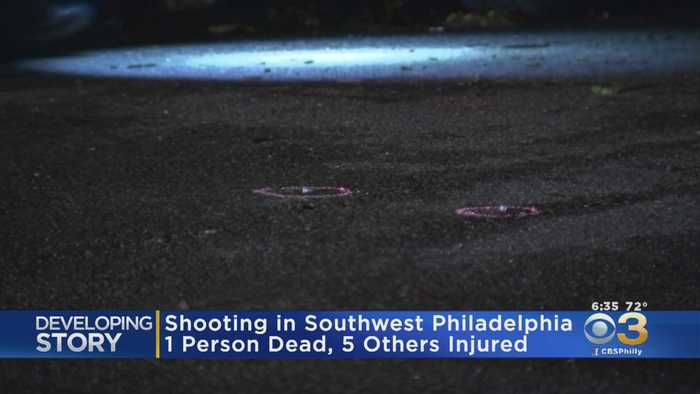 Shooting At Graduation Party Leaves 1 Dead, 5 Injured In Southwest Philadelphia