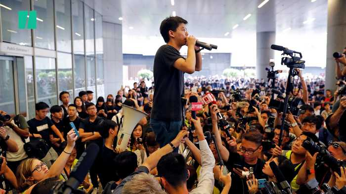 Hong Kong Protests Continue Over Proposed Extradition Bil