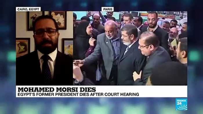 Mohamed Morsi dies : Egypt former dies after court hearing