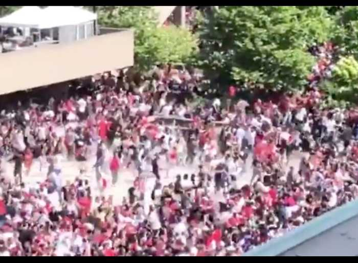 Crowd Flees Following Reported Shooting at Raptors Parade in Toronto