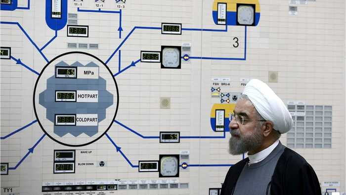 Iran threatens to breach nuclear deal limits after US accused it of oil tanker attacks