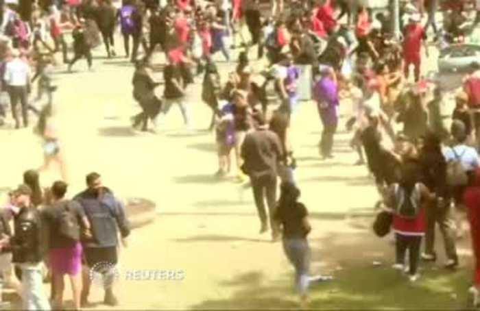 Shots fired during Toronto Raptors victory parade