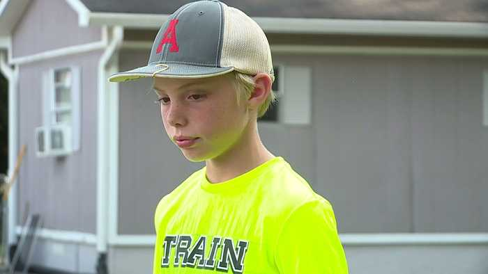 11-Year-Old Boy Describes Moment He Grabbed Machete to `Protect the House` from Intruder
