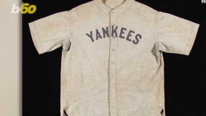 Babe Ruth Jersey Knocks It Out of the Park, Sells for Record-Setting $5.64M at Auction