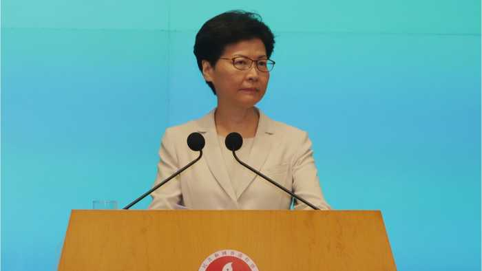 Hong Kong Leader Apologizes Again After Fury