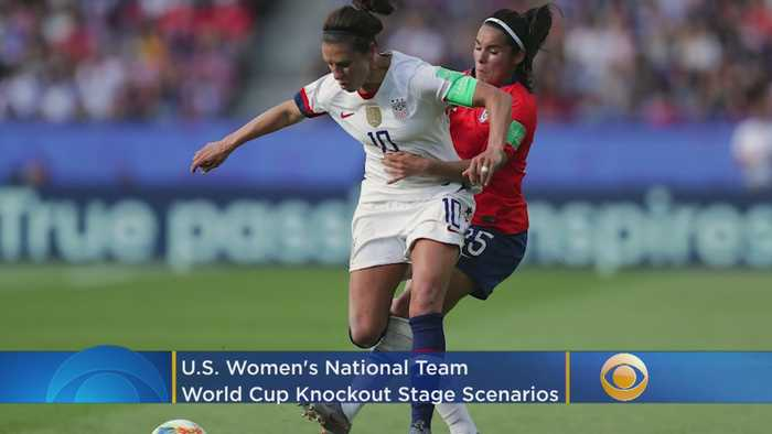 USWNT Knockout Stage Scenarios