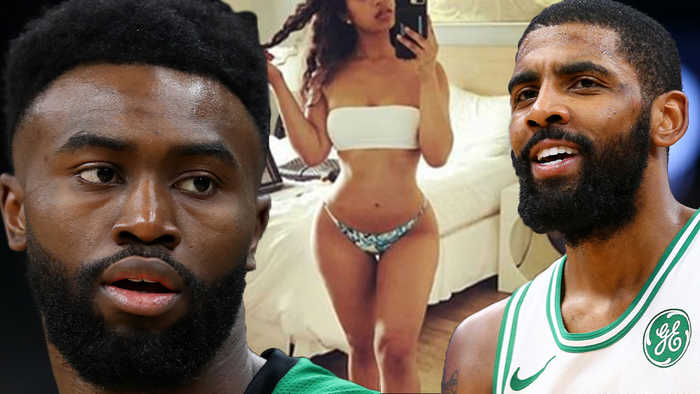 Kyrie Irving GHOSTING The Celtics & Jaylen Brown Gets ROWDY While Shooting His Shot On IG