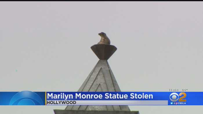 Marilyn Monroe Statue Stolen From Hollywood Walk Of Fame