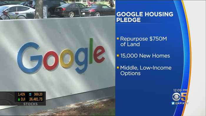 Google Pledges $1 Billion To Address Bay Area Housing Crunch