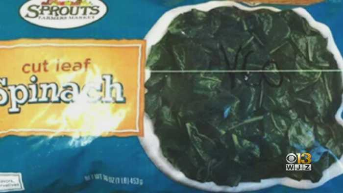Frozen Spinach Sold In 19 States Being Recalled Over Listeria Concerns
