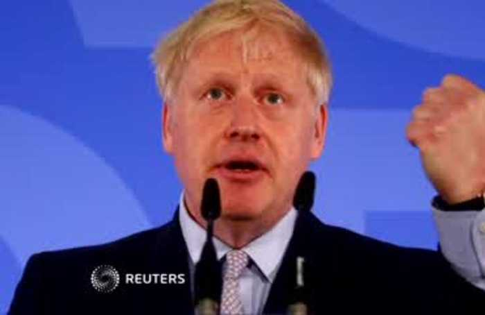 Leave EU by Oct. 31 or pay the price: Boris Johnson
