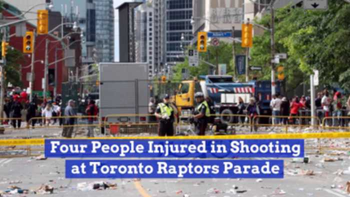 There Was A Shooting At The Toronto Raptors Win Parade