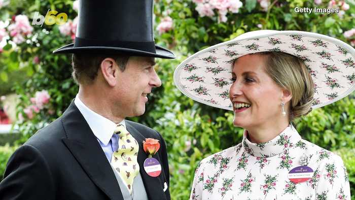 Prince Edward Seems to  Really Really  Like This Yellow Tie!