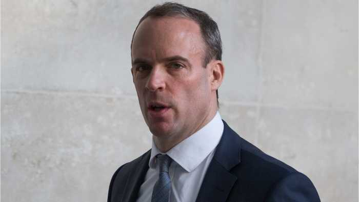 No Longer In The Race, Dominic Raab Backs Boris Johnson For Prime Minister