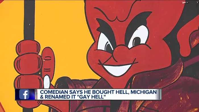 Man says he bought Hell, Michigan, renames it to 'Gay Hell'
