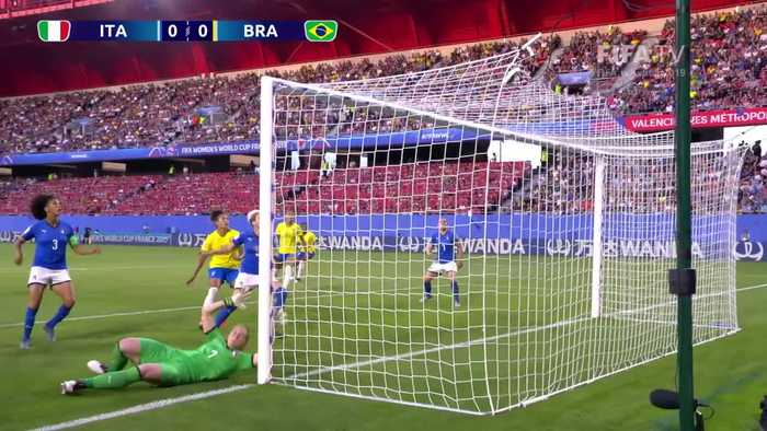 Italy vs Brazil - FIFA Women's World Cup, France 2019
