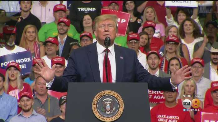 Trump Starts Reelection Campaign With Rally In Florida