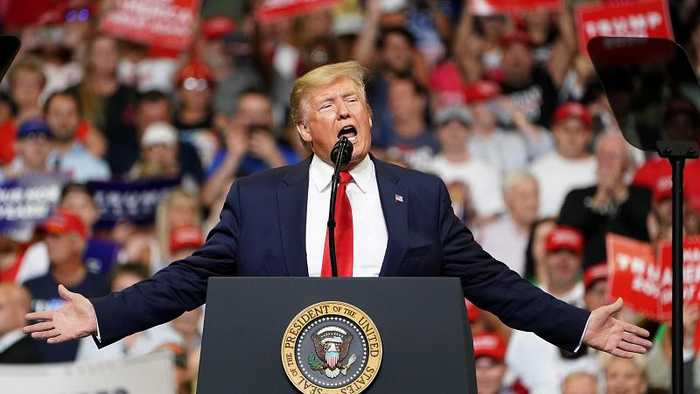 Trump launches 2020 re-election campaign to 'Keep America Great'