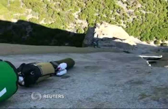 10-year-old American girl climbs 'The Nose' of El Capitan