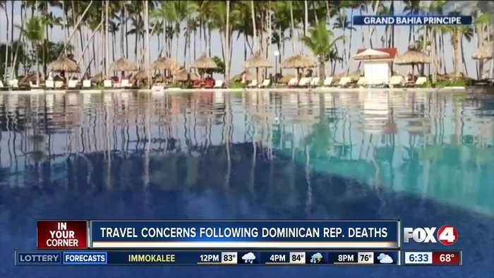 Safety concerns prompt travel cancellations to Dominican Republic