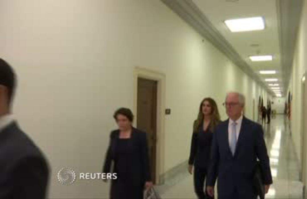 Hope Hicks arrives for Judiciary grilling