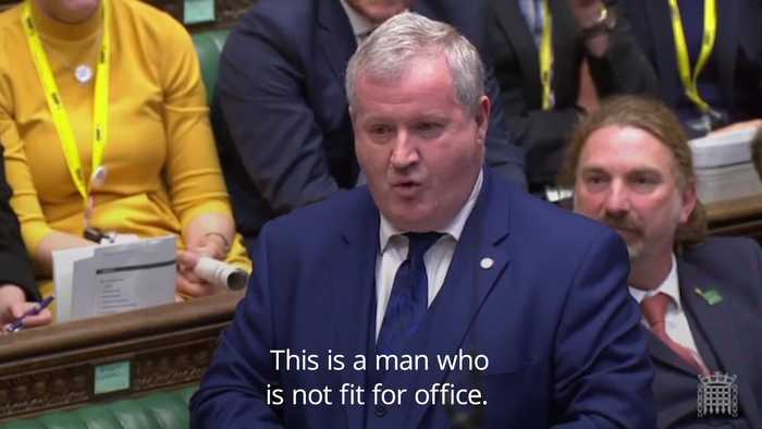 Ian Blackford labels Boris Johnson a racist