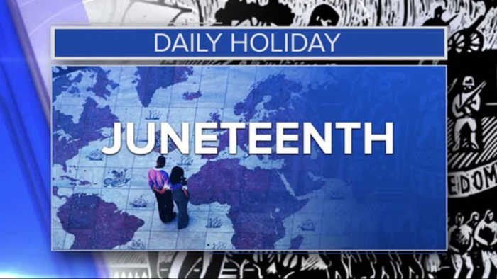 Daily Holiday - Juneteenth