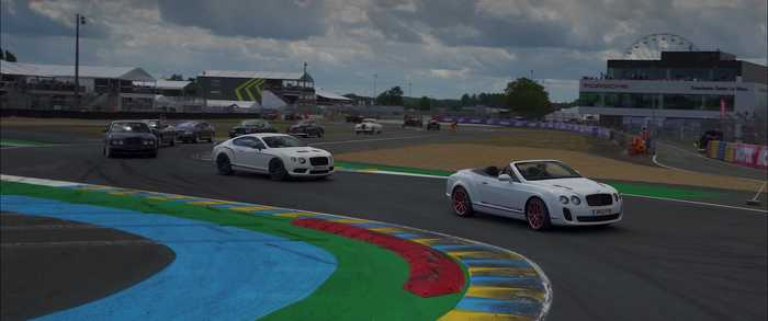 Bentley Parade Lap Le Mans 2019