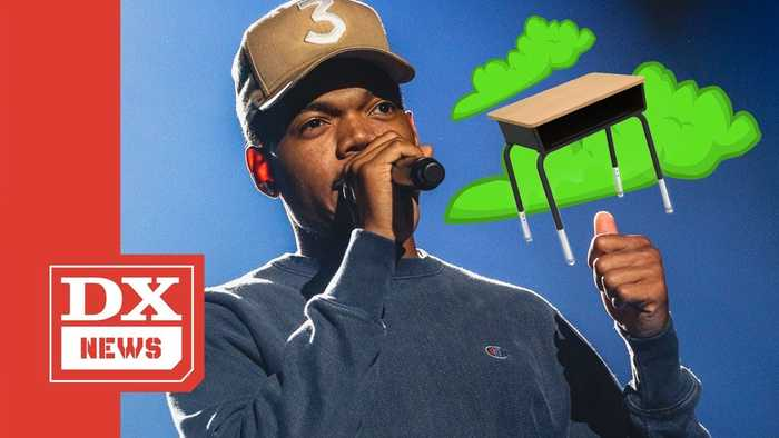 Chance The Rapper Is Liable To Fart On Your Kids' School Desk