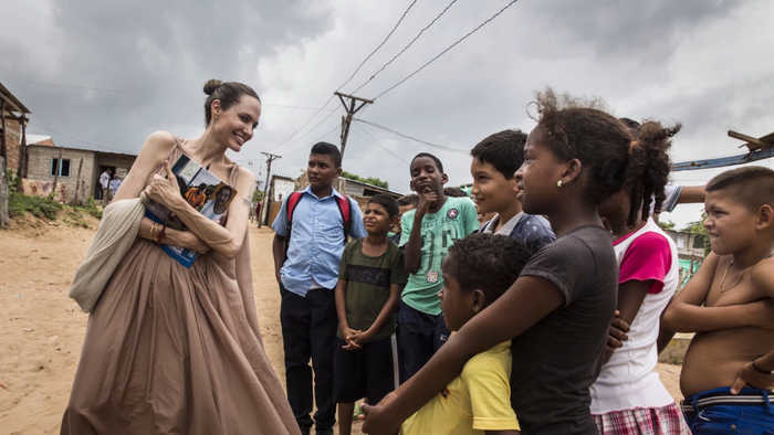 Angelina Jolie hired as new Time Magazine contributing editor