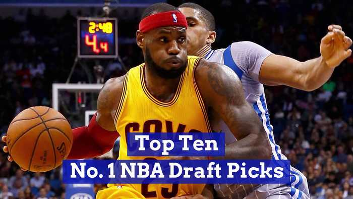 Top Ten No. 1 NBA Draft Picks