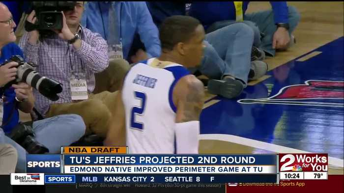 DaQuan Jeffries hopes to become Tulsa Basketball's first NBA Draft pick in nearly a decade