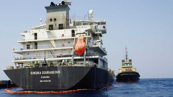 U.S. Navy: Mine fragments suggest Iran behind attacks on gulf tankers