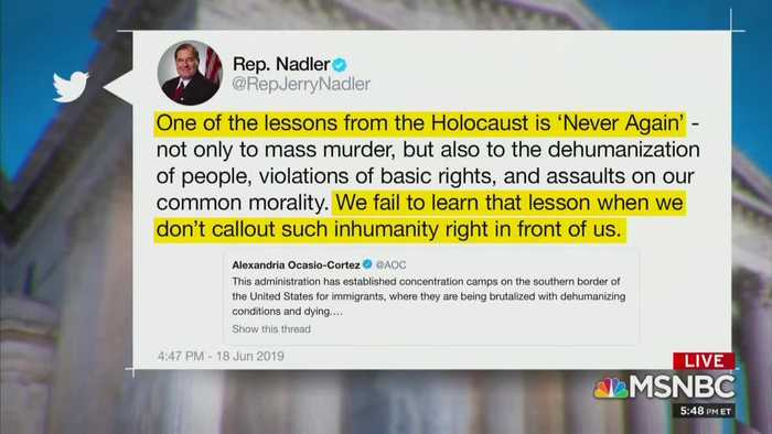 Chuck Todd calls out Ocasio-Cortez over concentration camps comment