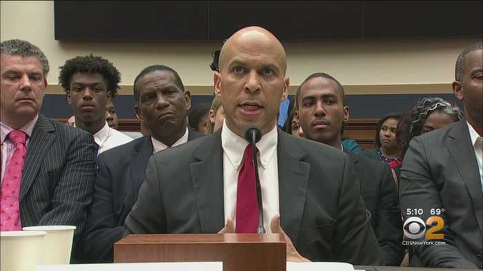 Booker, Others Argue For Slavery Reparations
