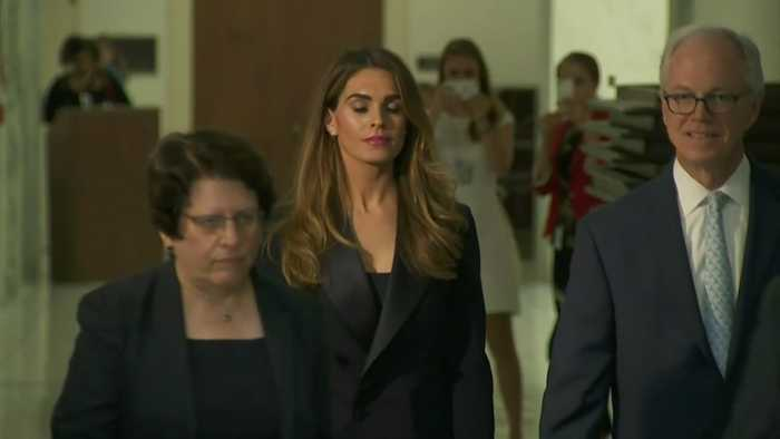 Hope Hicks Won't Answer Questions About White House