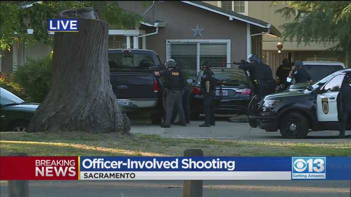 Latest On Officer-Involved Shooting In North Sacramento