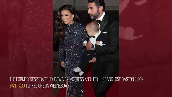 Eva Longoria had 'best year' with son